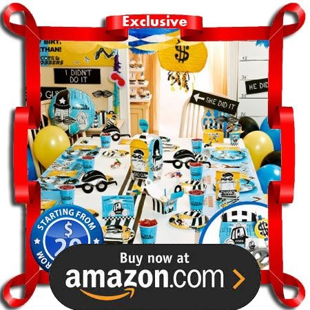 Cops and Robbers Party Supplies