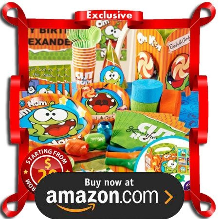 Cut the Rope Party Supplies