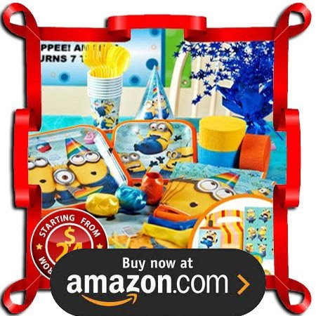 Despicable Me 2 Party Supplies