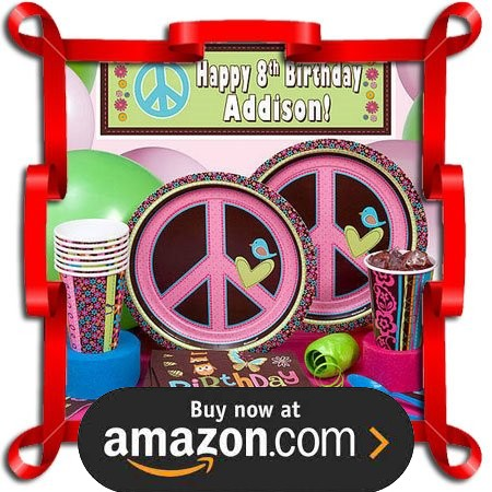 Hippie Chick Party Supplies