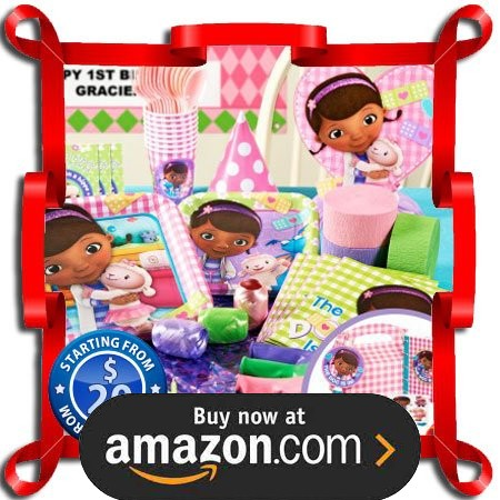 Doc McStuffins Party Supplies