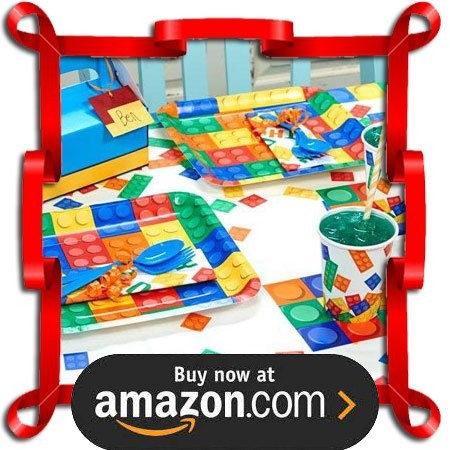 Building Block Party Supplies