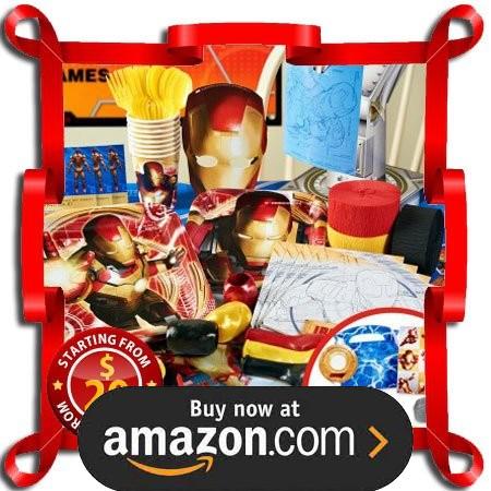 Iron Man 3 Party Supplies