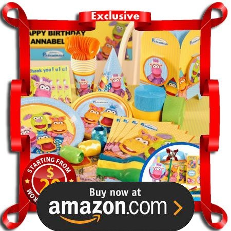 Pajanimals Party Supplies