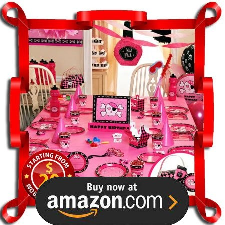 Pink Skull Party Supplies
