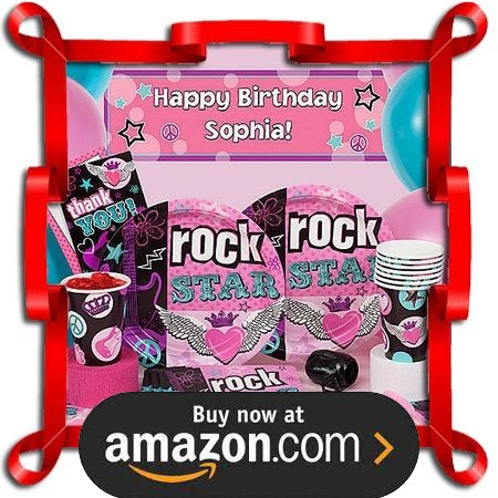 Party Like A Rock Star Party Supplies