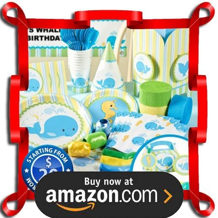 Whale Of Fun Party Supplies